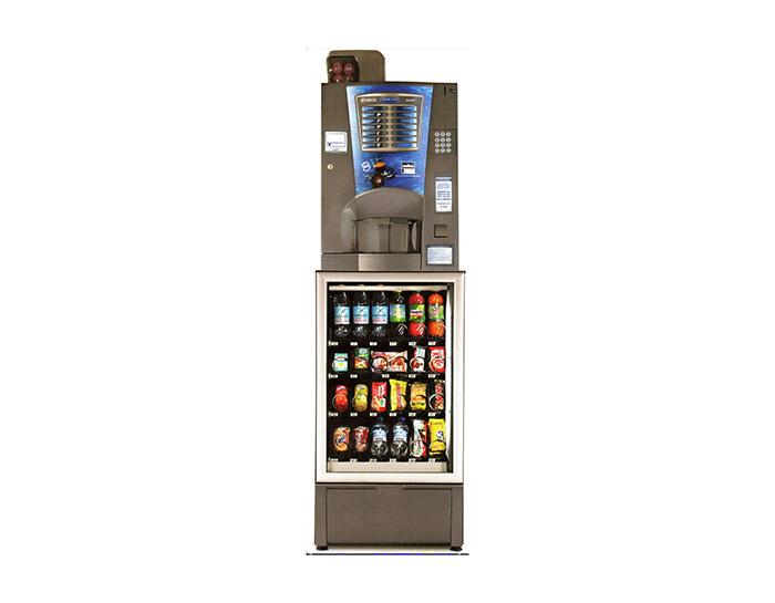 Distributori di bevande fredde e snack Sogeda